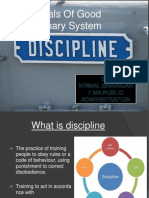Essentials Of A Good Disciplinary System