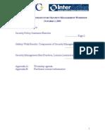 OSAC-IA Workshop Notes