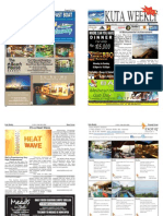 "Kuta Weekly- Edition 360 ""Bali's Premier Weekly Newspaper"""