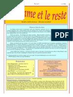 La Somme Et Le Reste No. a-2