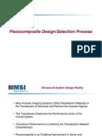Piezocomposite Transducer Design