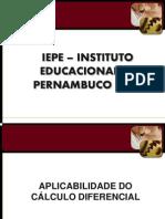APLICAÇÃO DO CALCULO DIFERENCIAL final