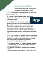 Consulta terminología SENA