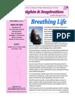 Divine Creators Newsletter - November 2013