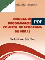 Manual de Programacion y Control de Programa de Obras - Julio Sanchez