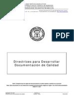 Directrices Para Desarrollar Doc Sgc
