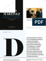 Perfil de David Martinez CEO Fintech