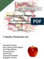 Prevenção das toxicoinfecções e intoxicações alimentares