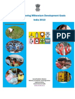 Towards achieving Millenium Development Goals(MDGs):Report by Ministry of Statistics and Programme  implementation