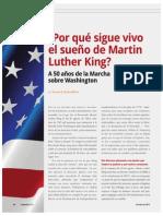 ¿Por qué sigue vivo el sueño de Martin Luther King? A 50 años de la Marcha sobre Washington (Nación 2381_Oct 2013)