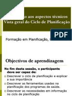 1. Visao geral sobre o Ciclo de Planificação 2012