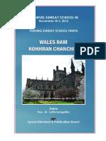 KVSS NI 2013 - PUITLING THUPUI - Wales ram kohhran chanchin