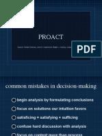 Decision Making PROACT
