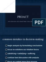Decision Making PROACT