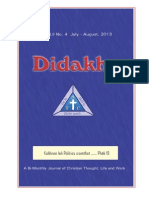 Didakhe - July_August, 2013