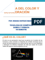 Quimica Del Color y Decoloracion