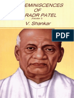 My Reminiscences of Sardar Patel by V. Shankar (Vol 1)