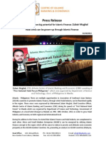 Press Release on Analysis of Islamic finance in ASEAN member countries (English)