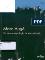 Auge, Marc. Por una antropología de la movilidad