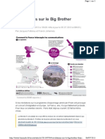 Révélations sur le Big Brother français