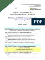 2F Agenda Feria'13