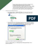 Cara Print Dari Cliet