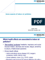 Some aspects of indoor air pollution 2013