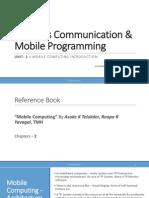 Unit-1 - Mobile Computing Introduction (GTU Syllebus)