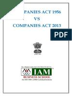 Companies Act 2013 vs Companies Act 1956.pdf