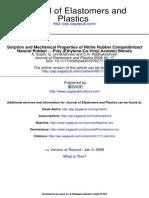 Journal of Elastomers and Plastics 2008 Sujith 17 38