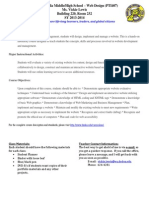 web design syllabus 2013