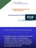 Fonti del diritto commercilae internazionale.ppt