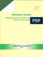 PEDOMAN TEKNIS VIT K1