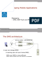 sms messaging /mms messgaing / gsm concept
