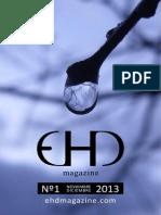 EHD magazine Nº 1 - NOVIEMBRE / DICIEMBRE 2013