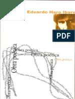 Eduardo Haro Ibars. Obra poética.