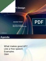 Practical API Design