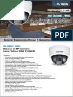 AM-DM2011-FMR3-Avtron Dome IP Camera.pdf