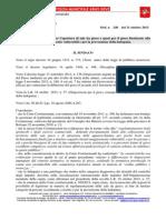Proposta Ordinanza Disposizioni per il gioco consapevole e per la prevenzione della ludopatia