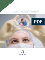 Sanofi 2012 CSR Report