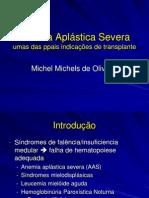 (aula 05 Michel) Anemia aplástica severa