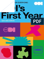 ODI's First Year