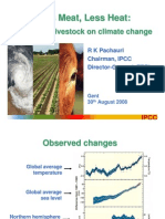 2008 Chief of IPCC Lessmeatlessheat