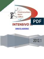 01- 05-06-12 - INTRODUÇÃO AO DIREITO AGRÁRIO - HISTÓRIA DO DIREITO AGRÁRIO NO BRASIL