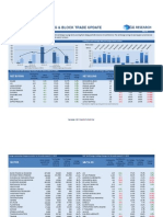 Weekly Foreign Holding & Block Trade Update - 01 11 2013