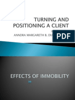 Turning and Positioning a Client