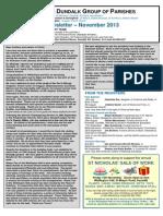 Parish Newsletter November 2013