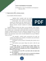 ORIENTAÇÃO DO REVERENDO WATANABE