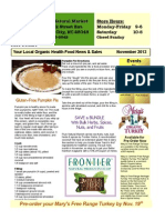November Newsletter Plum Natural Market