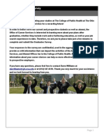 graduate placement survey